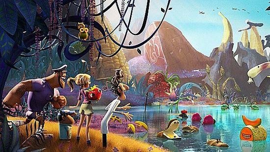 «Облачно... 2: месть гмо»: путешествие на студию sony animation