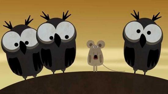 Российский мультфильм «совы нежные» собрал более 500 тысяч просмотров