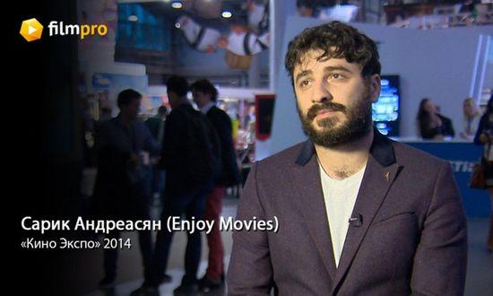 Сарик андреасян: «enjoy movies начинает снимать фантастическое высокотехнологичное кино»