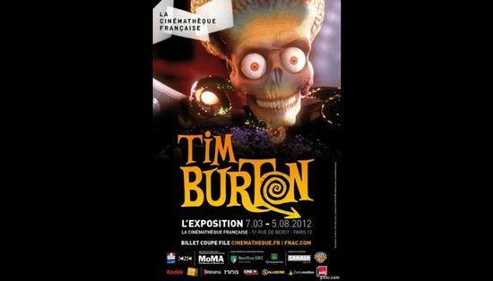 Выставка тима бёртона в париже