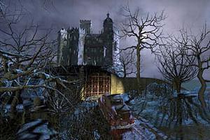Замок с привидениями 3d